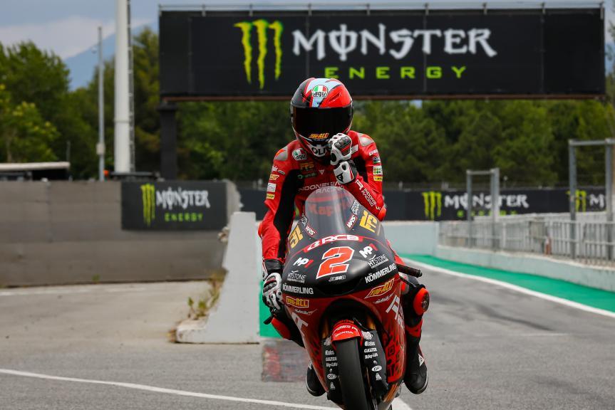 Gabriel Rodrigo, Indonesian Gresini Racing Moto3, Gran Premi Monster Energy de Catalunya