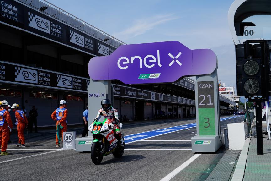 Kevin Zannoni, LCR E-Team, Gran Premi Monster Energy de Catalunya