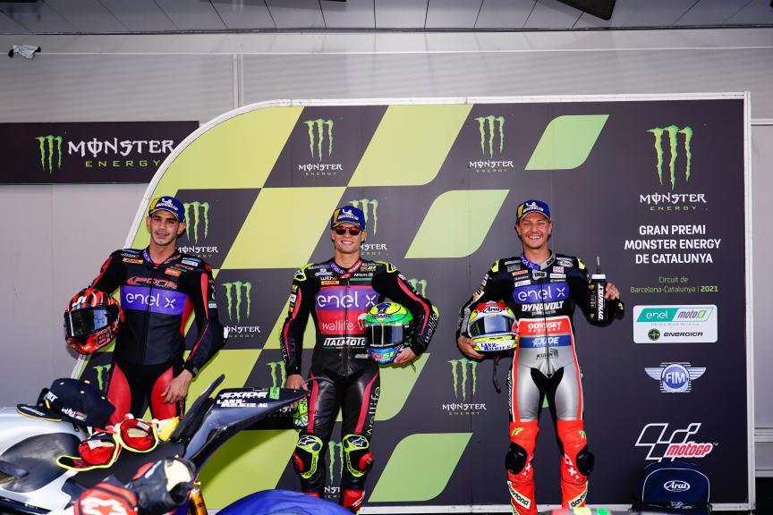 Eric Granado, Jordi Torres, Dominique Aegerter, Gran Premi Monster Energy de Catalunya