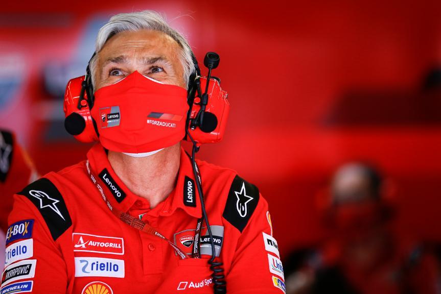 Davide Tardozzi, Ducati Lenovo Team, Gran Premi Monster Energy de Catalunya