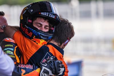 Moto2™ : Nouveau doublé du team Red Bull KTM Ajo