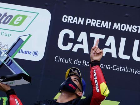 MotoE™, Race, Gran Premi Monster Energy de Catalunya