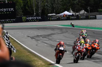 Moto3™ : 15 précieux millièmes pour Garcia