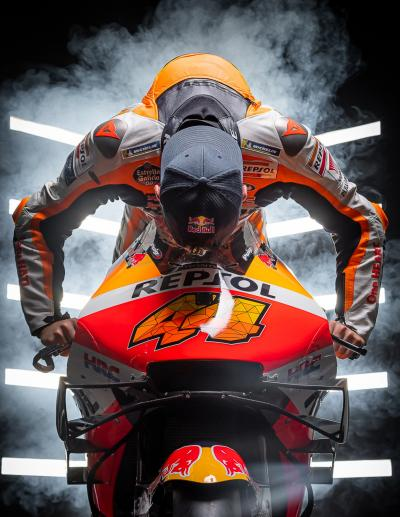 Riders' Rituals @polespargaro | Never start a race without giving