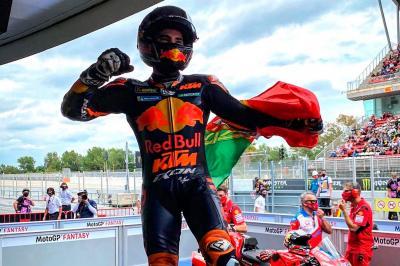 A gran sorpresa Oliveira vince il GP de Catalunya!