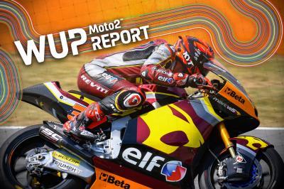 Montmeló : A.Fernández s'adjuge le warm-up Moto2™