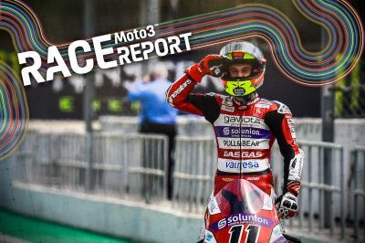 Montmeló - Moto3™ : Garcia résiste à Alcoba sur la ligne !