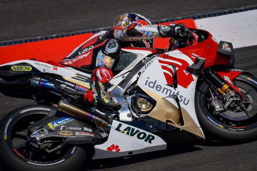 Takaaki Nakagami, LCR Honda, Catalunya MotoGP™ Official Test