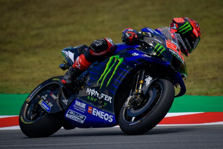 Fabio Quartararo, Monster Energy Yamaha MotoGP, Catalunya MotoGP™ Official Test