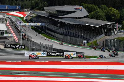 El Red Bull Ring volverá a acoger a la afición de MotoGP™
