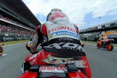 OnBoard: Enjoy the start from the Catalan GP in full 360