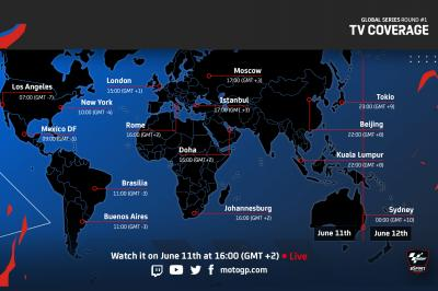 Where to watch Round 1 of the Global Series