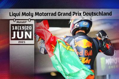 Todos los horarios del Gran Premio Liqui Moly de Alemania
