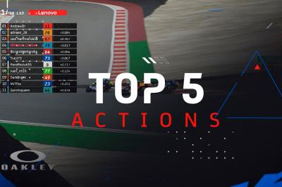 The Top 5 actions from Round 1 of the Global Series