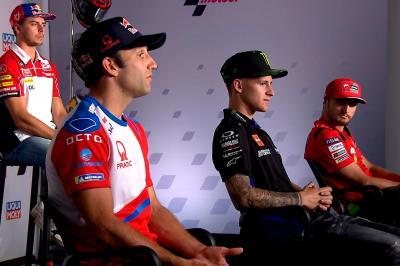 Los rivales de Márquez, en alerta: 'Va a estar ahí'