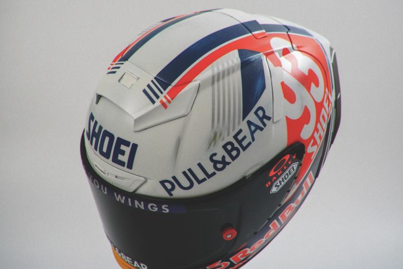 Marc Marquez GermanGP (德國站) 特別塗裝頭盔395
