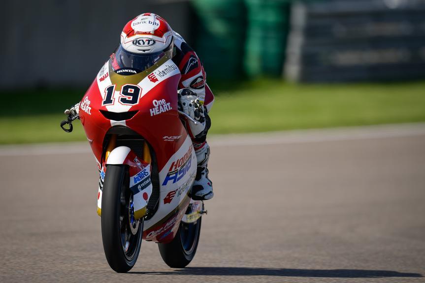 Andi Farid Izdihar, Honda Team Asia, Liqui Moly Motorrad Grand Prix Deutschland