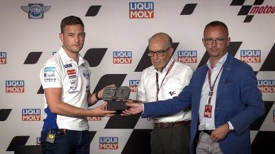 Jason Dupasquier's #50 retired from the Moto3™ class