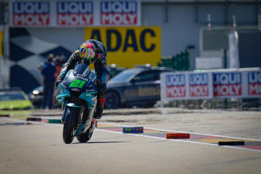 Franco Morbidelli, Petronas Yamaha STR, Liqui Moly Motorrad Grand Prix Deutschland
