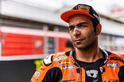 Petrucci: I'm happy with KTM, and we can be top 8 finishers