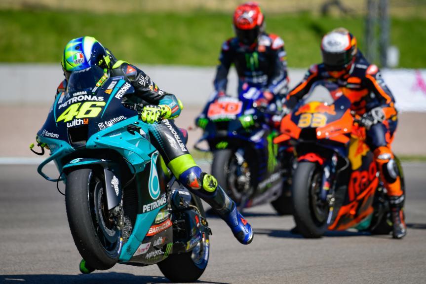 Valentino Rossi, Petronas Yamaha STR, Liqui Moly Motorrad Grand Prix Deutschland