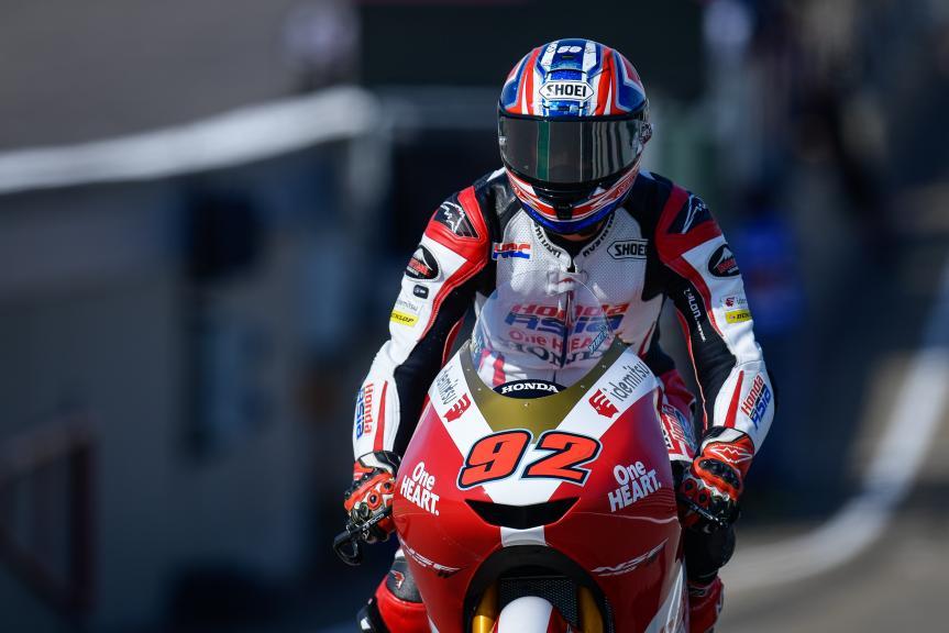 Yuki Kunii, Honda Team Asia, Liqui Moly Motorrad Grand Prix Deutschland