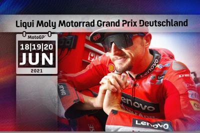 Zeitplan: Liqui Moly Grand Prix von Deutschland