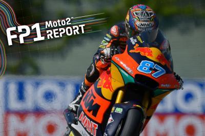 Moto2™ - FP1 : Gardner prend les devants en Allemagne