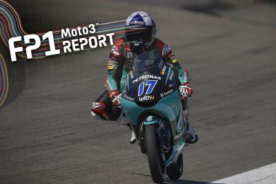 McPhee in testa nella FP1 della Moto3™ al Sachsenring