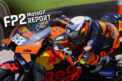 Oliveira erobert hitziges MotoGP™ FP2 in Deutschland