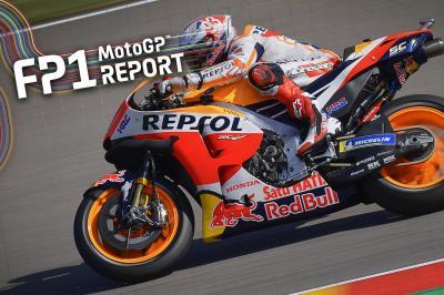 Marquez al comando nella FP1 della MotoGP™ al Sachsenring