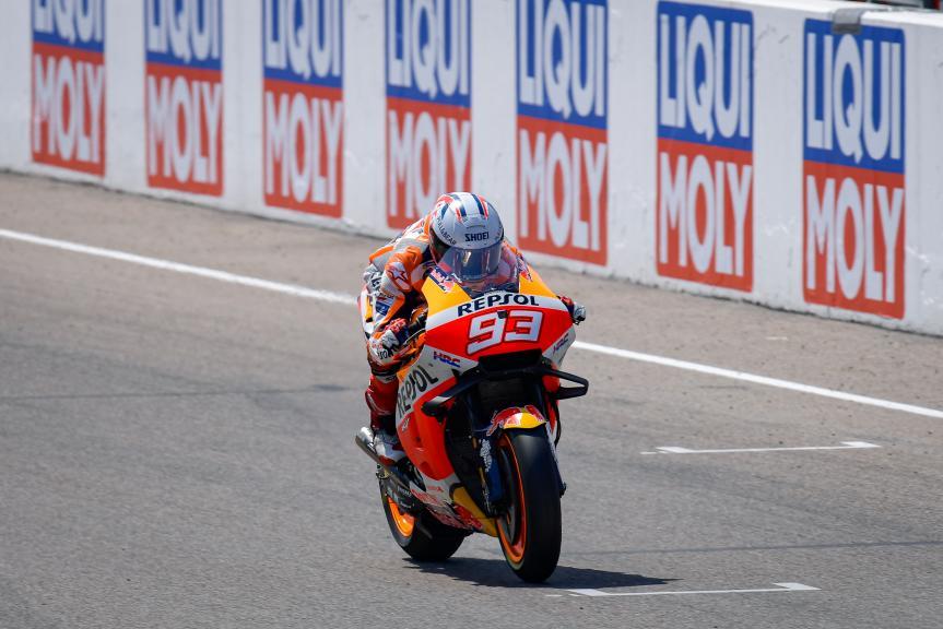 Marc Marquez, Repsol Honda Team, Liqui Moly Motorrad Grand Prix Deutschland