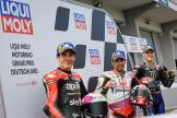 Johann Zarco, Fabio Quartararo, Aleix Espargaro, Liqui Moly Motorrad Grand Prix Deutschland