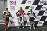 Filip Salac, Tatsuki Suzuki, Dennis Foggia, Liqui Moly Motorrad Grand Prix Deutschland