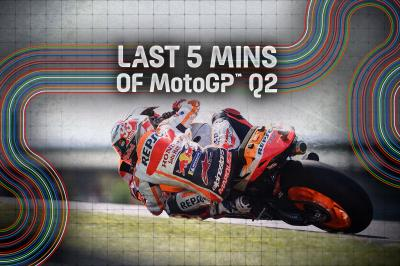 FREE: The final 5 minutes of Q2 from the German GP