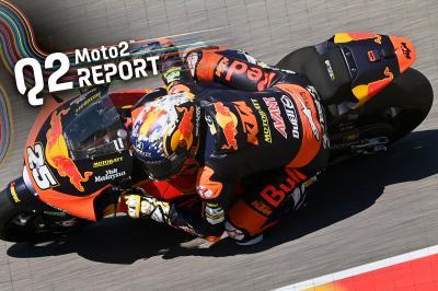 Raul Fernandez bricht Rundenrekord für Sachsenring-Pole