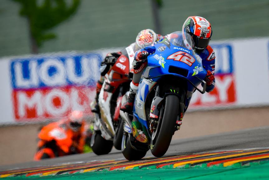 Alex Rins, Team Suzuki Ecstar, Liqui Moly Motorrad Grand Prix Deutschland