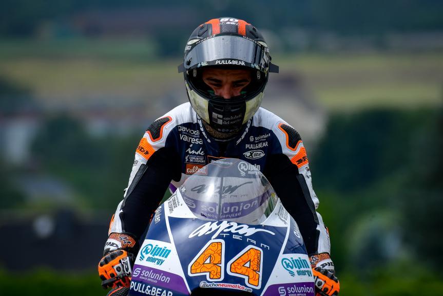 Aron Canet, Inde Aspar Team, Liqui Moly Motorrad Grand Prix Deutschland