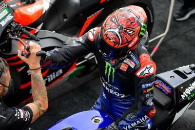 """""""Marc is from another planet"""" - Quartararo in awe of Marquez"""