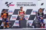 Marc Marquez, Fabio Quartararo, Miguel Oliveira, Liqui Moly Motorrad Grand Prix Deutschland