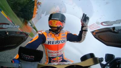 FREE: Marquez's magical last lap and emotional celebrations