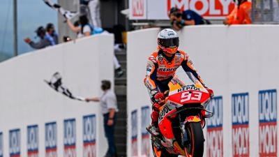King of the Ring: Marquez strikes back with Sachsenring win