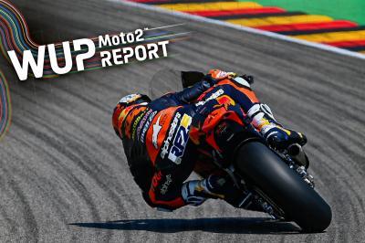 Raul Fernandez gibt das Tempo im Moto2™ Warm-Up vor