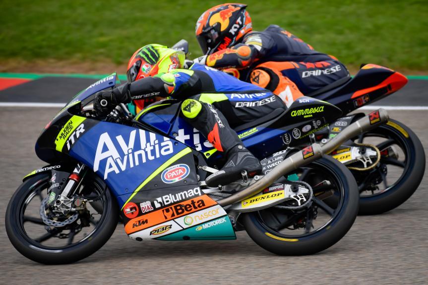 Jaume Masia, Elia Bartolini, Liqui Moly Motorrad Grand Prix Deutschland