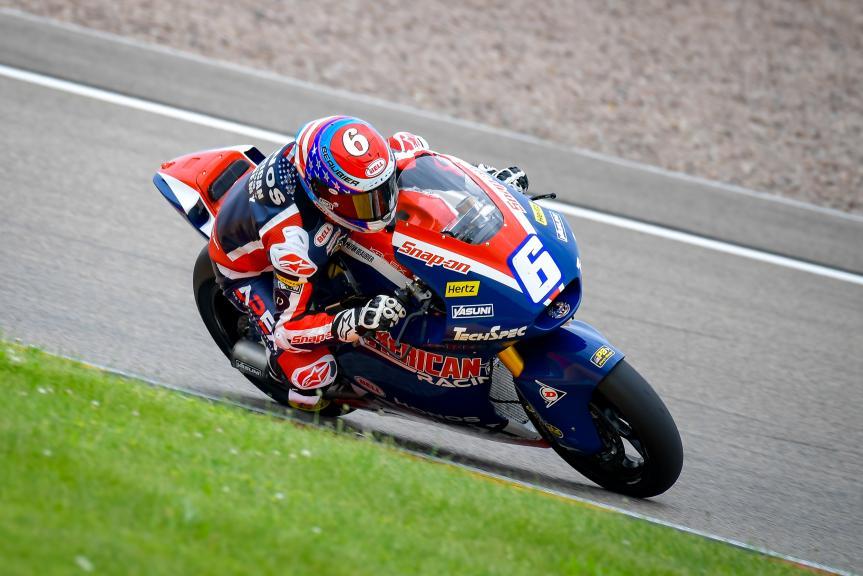 Cameron Beaubier, American Racing, Liqui Moly Motorrad Grand Prix Deutschland