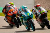 Dennis Foggia, Tatsuki Suzuki, Pedro Acosta, Liqui Moly Motorrad Grand Prix Deutschland