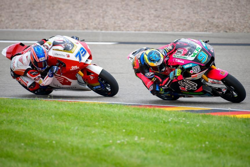 Jorge Navarro, Ai Ogura, Liqui Moly Motorrad Grand Prix Deutschland
