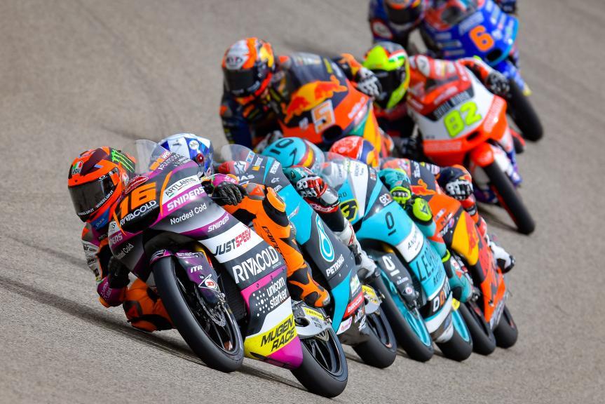 Andrea Migno, Rivacold Snipers Tea, Liqui Moly Motorrad Grand Prix Deutschland