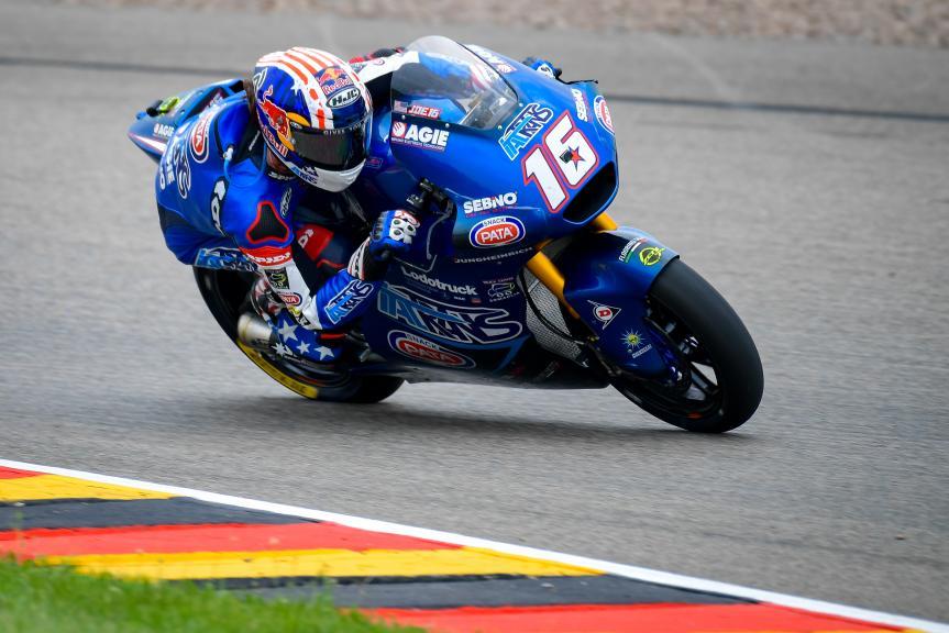 Joe Roberts, Italtrans Racing Team, Liqui Moly Motorrad Grand Prix Deutschland