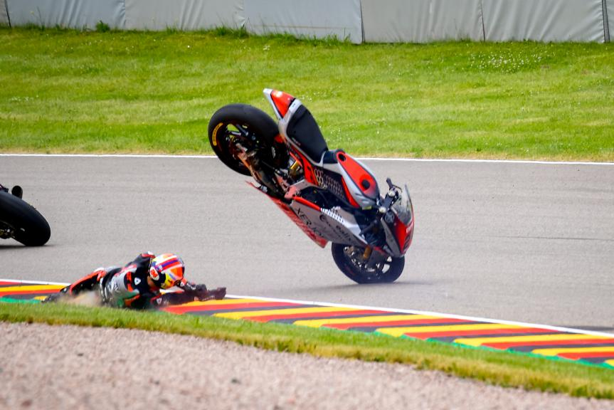 Simone Corsi, MV Agusta Forward Racing, Liqui Moly Motorrad Grand Prix Deutschland